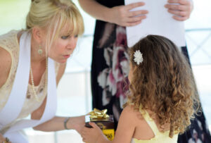Include your kids in your wedding ceremony