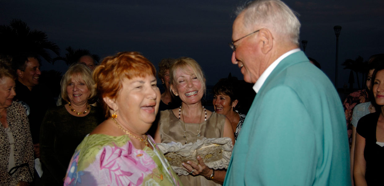 50th anniversary vow renewal ceremony