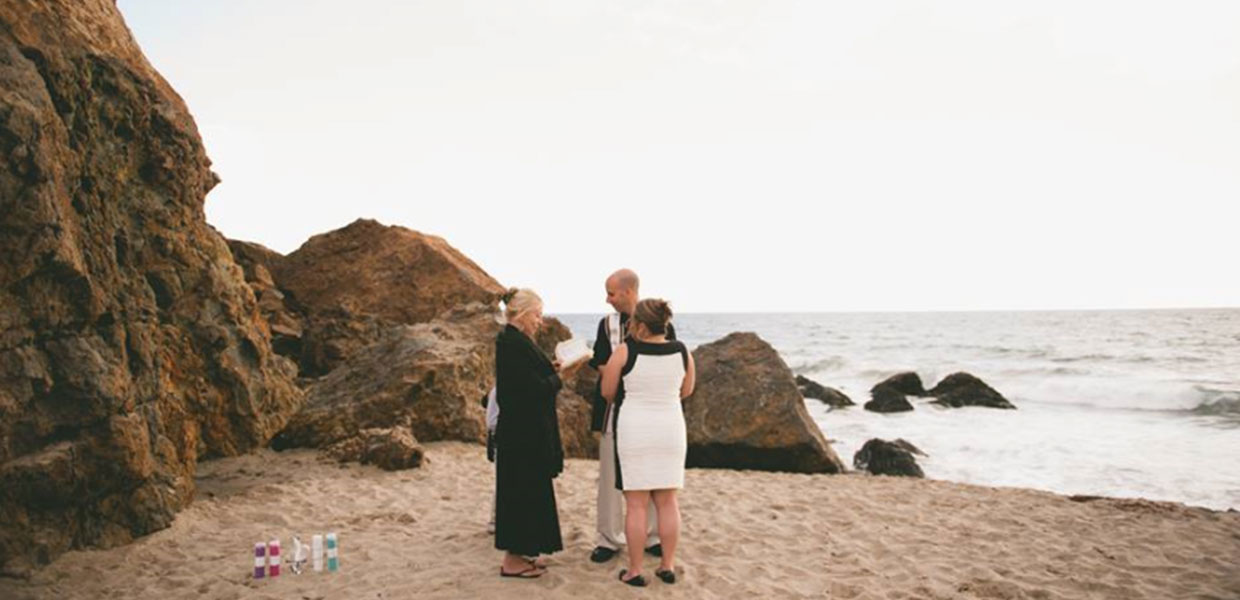 Renew your vows at Point Dume, Malibu Beach, CA