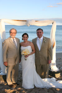 Beach Wedding with Reverend Paul