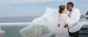 Getting married with officiant Arlene Goldman
