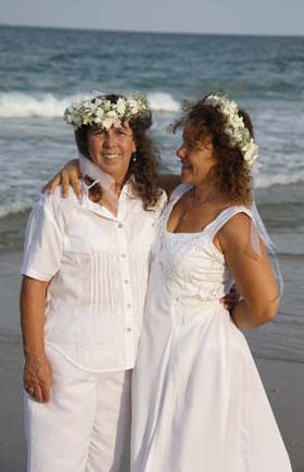LGBTQ Beach Wedding